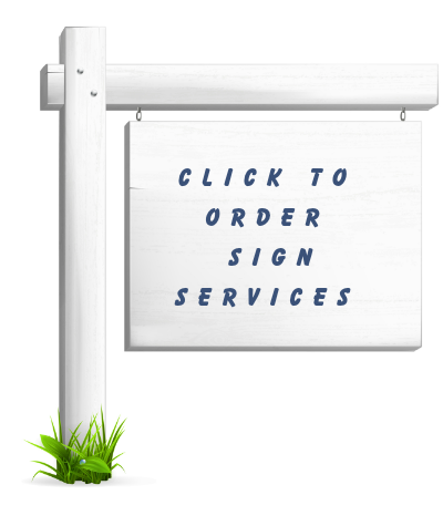 Real Estate Sign Services in Utah